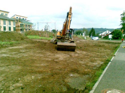 """Spielplatz Affstätt """"An der Raingasse"""" Baubeginn"""