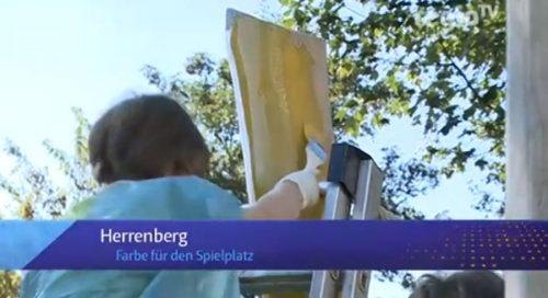 Spielplatz Sommerrain im Regionalfernsehen