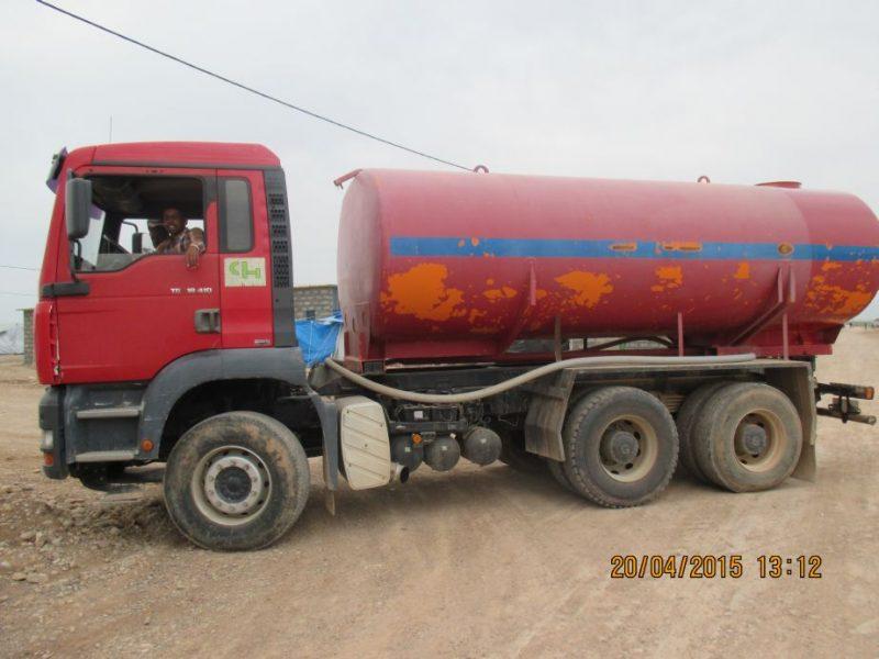 Trinkwasserversorgung nur über Tankwagen