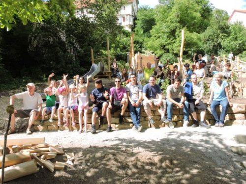 Bautagebuch Spielplatz Zwinger: Letzter Workcamp- und Bau-Tag