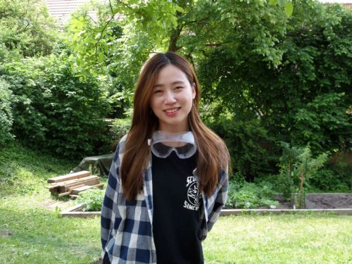 Cho Youn Joo (21) aus Korea…..