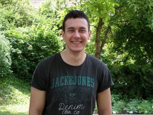 Igor Godec (24) aus Serbien…..