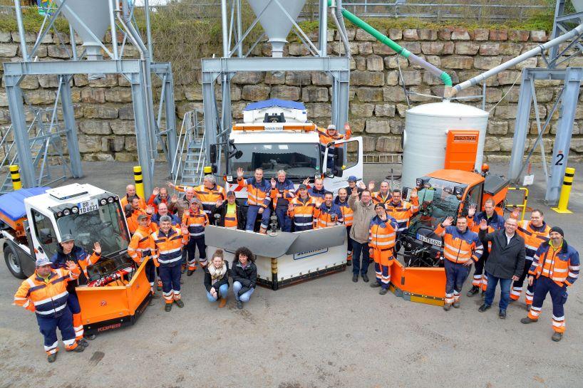 Herrenberg Technische Dienste / Winterdienst / Foto: Holom
