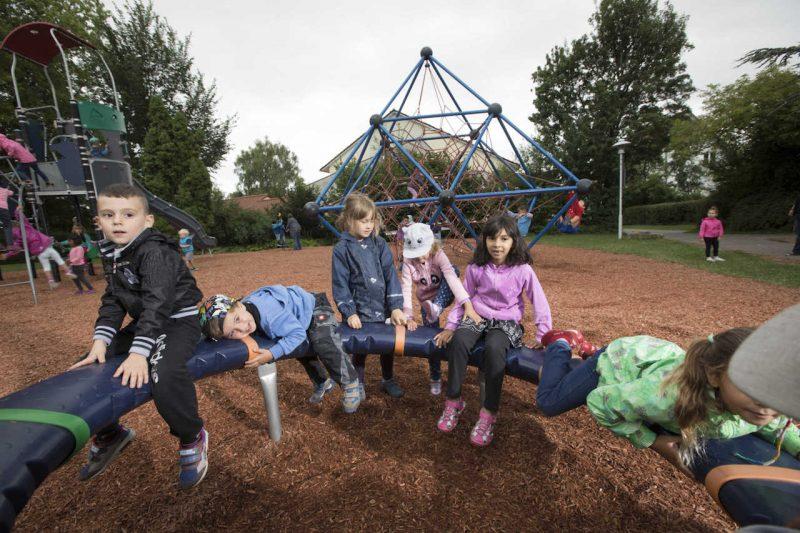 Spielplatz im Ottoschen Garten – Impressionen und Interviews