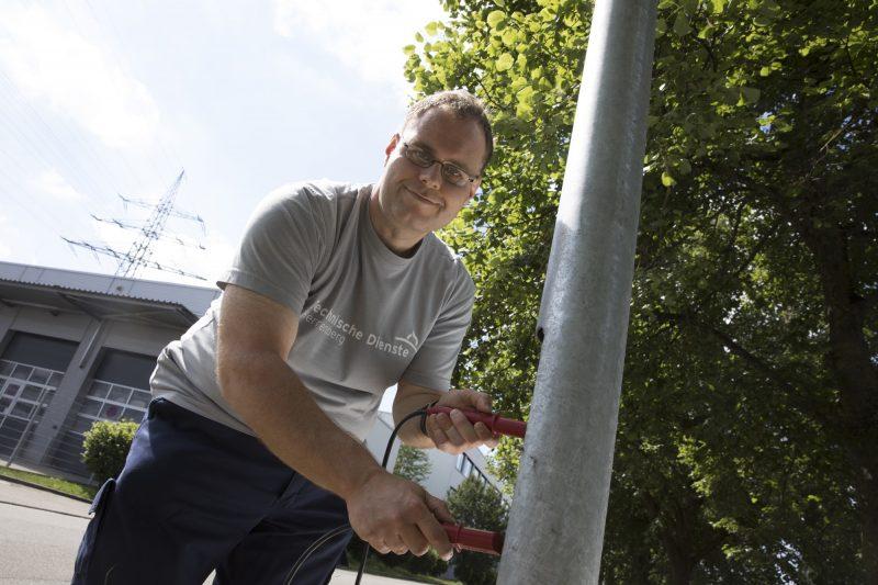 Elektroabteilung sucht Verstärkung
