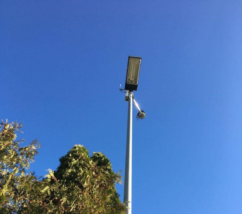 Sensor und Wetterstation im Dialog.