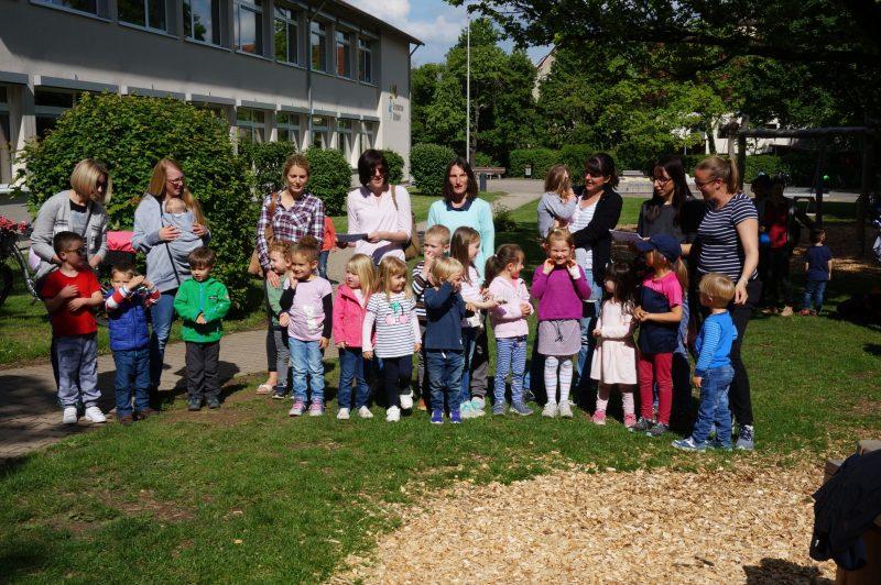 """Der """"Fleißige Handwerker""""-Chor aus dem Kindergarten Gartenäcker"""
