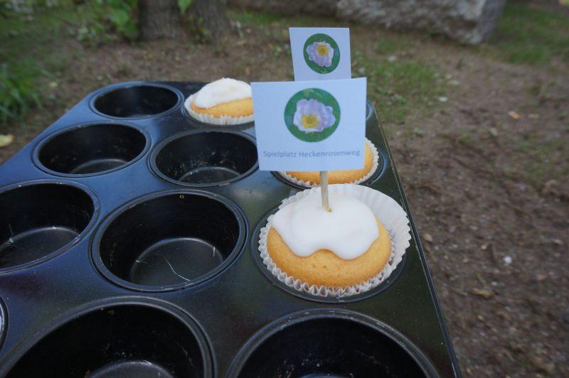 Kulinarisches Dankeschön für die Spielplatz-Bauer
