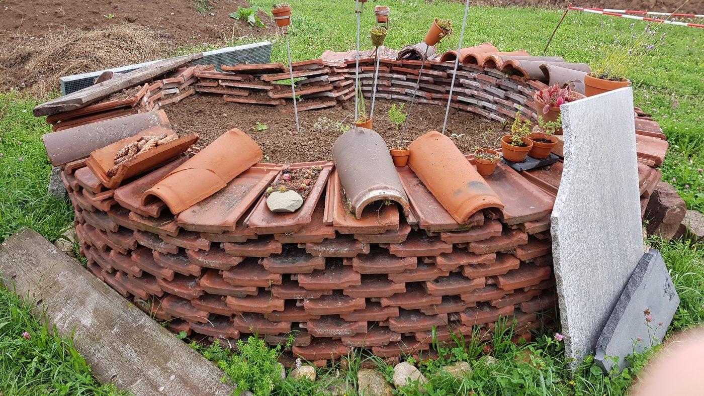 Bautag im Hortusgarten
